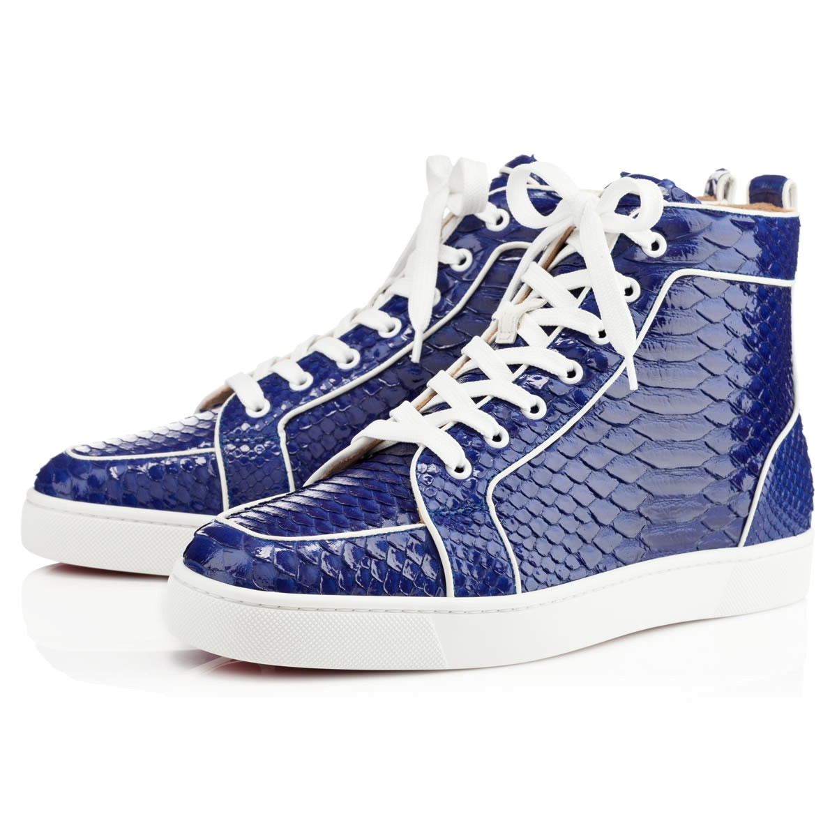 Christian Louboutin Rantus Orlato Mens Flat in Blue for ...