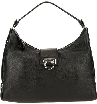 Ferragamo Fanisa Shoulder Bag - Lyst