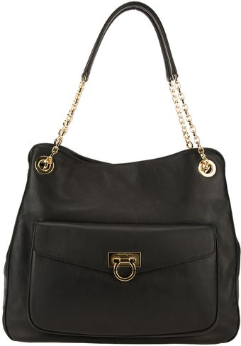 Ferragamo Medium Tote - Lyst