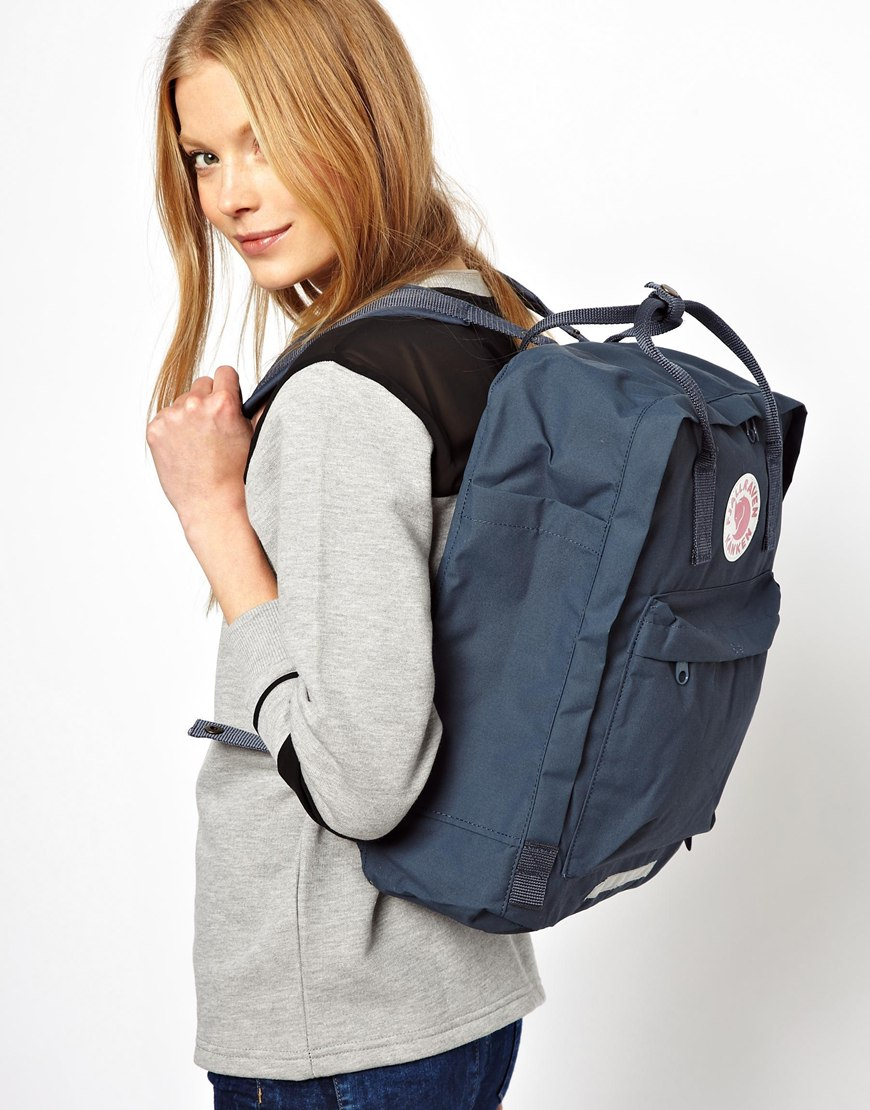Lyst Fjallraven Big Backpack In Blue