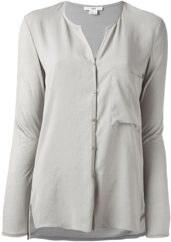 Helmut Lang Nexa Loose Fit Blouse - Lyst