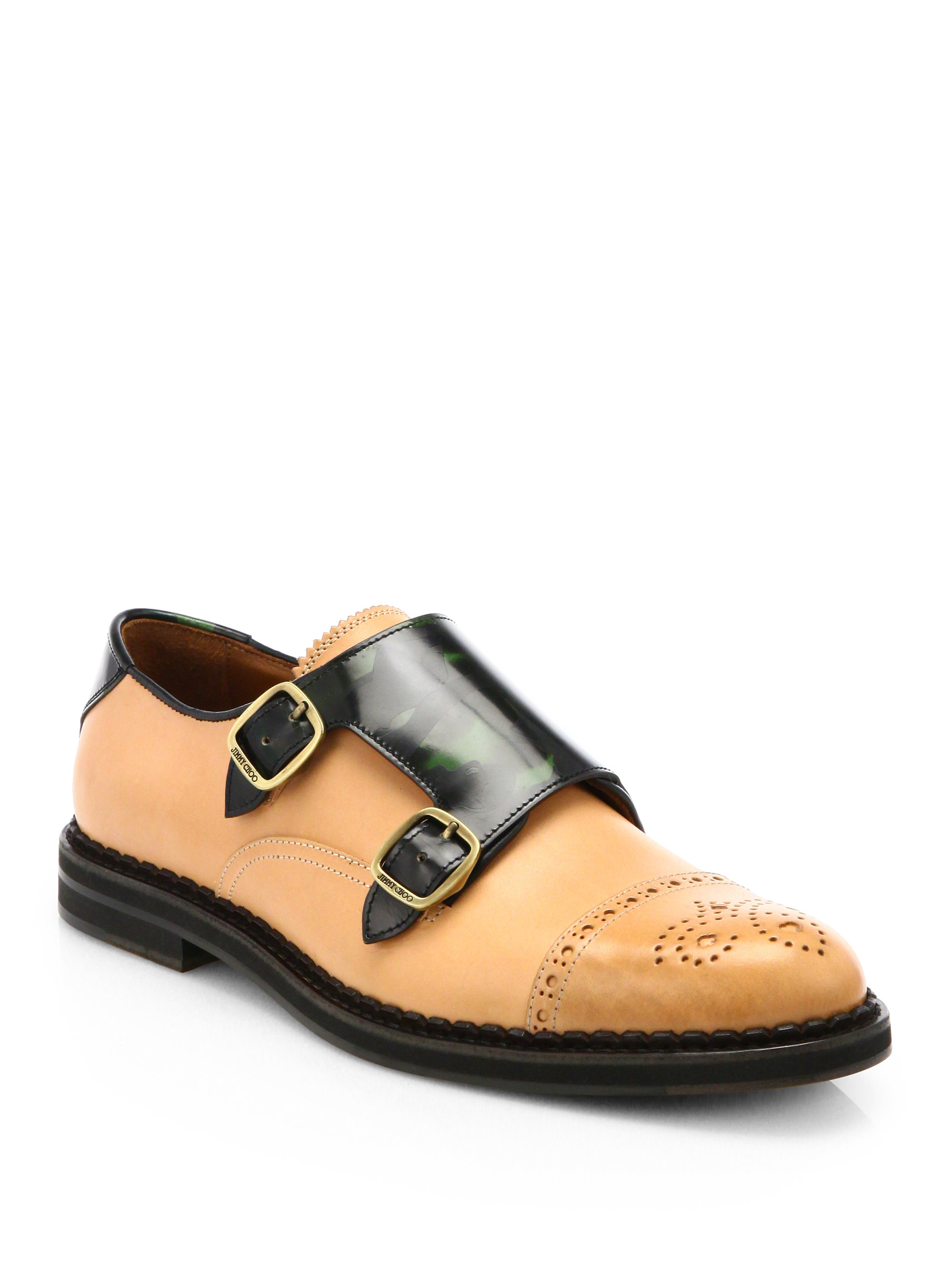 John Lobb Shoes >> Jimmy Choo Williams Monk Strap Dress Shoes in Brown for Men - Lyst