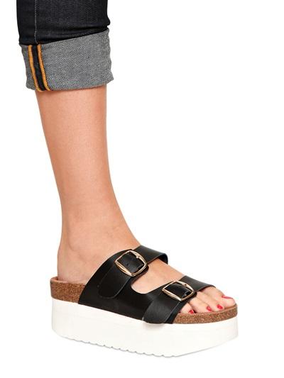 Lyst Kg By Kurt Geiger 60mm Leather Platform Sandals In