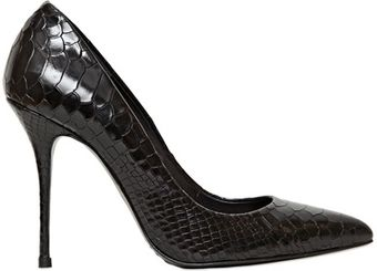 Kurt Geiger 105mm Ellen Snake Print Leather - Lyst