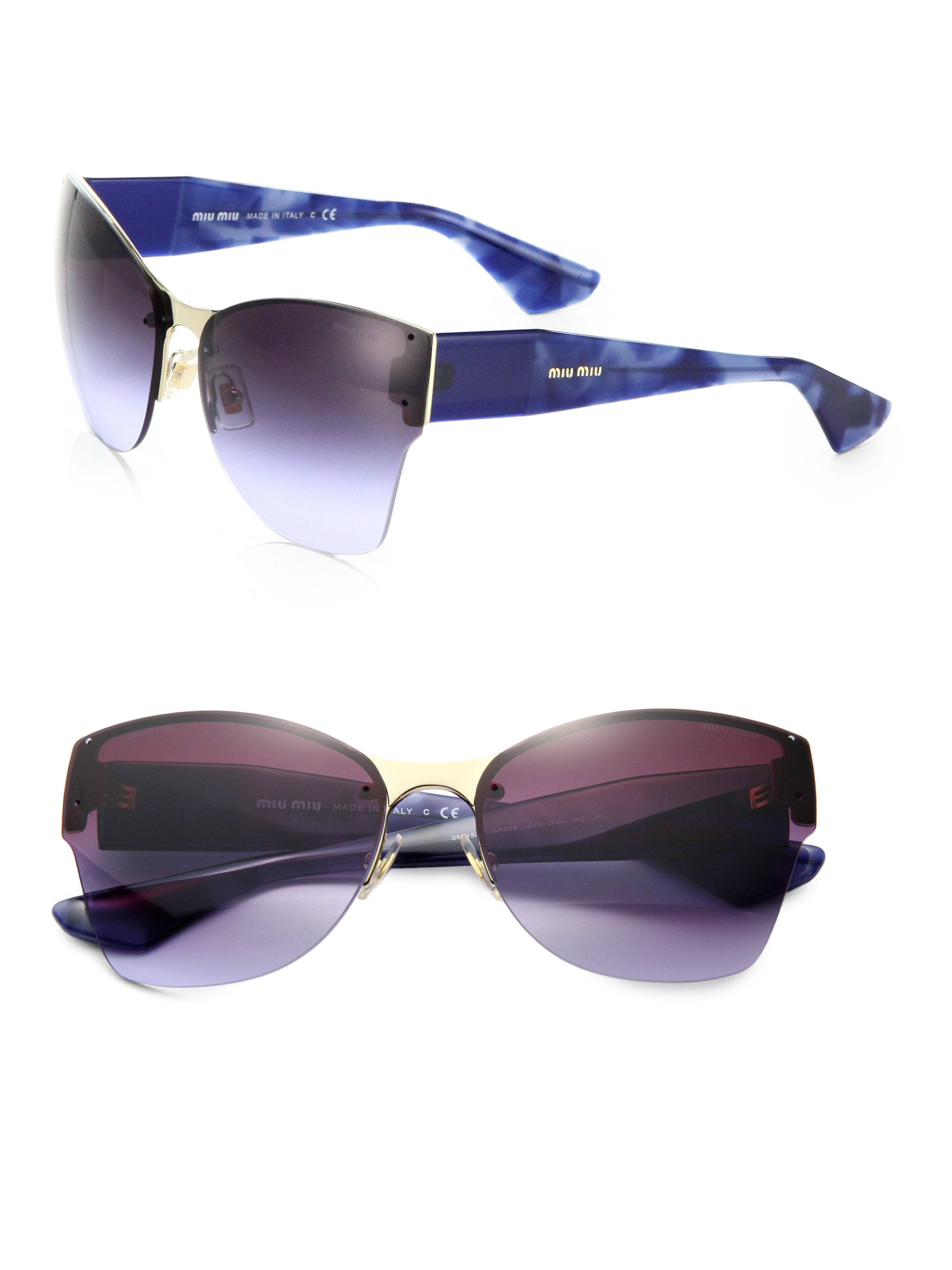 487678dd5e Gallery. Previously sold at  Saks Fifth Avenue · Women s Cat Eye Sunglasses
