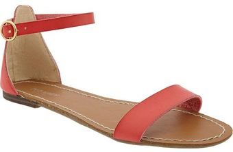 Old Navy Fauxleather Sandals - Lyst