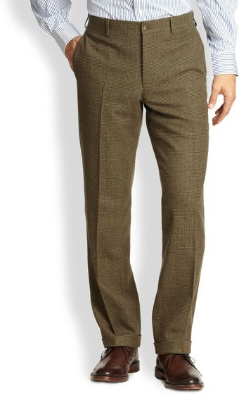 Polo Ralph Lauren Plaid Trousers - Lyst