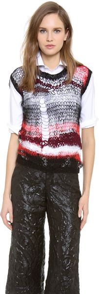 Rodarte Knit Shell Top - Lyst