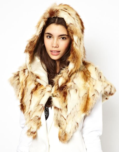 Spirit Hoods Jack Rabbit Shawl in Animal (Jackrabbit) - Lyst