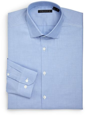 Theory Dover Hilltown Dress Shirt - Lyst