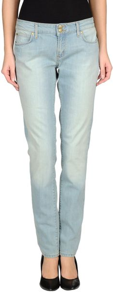 Tommy Hilfiger Denim Trousers - Lyst