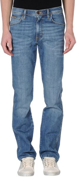 Wrangler Denim Pants - Lyst