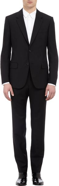 Alexander McQueen Two Button Suit - Lyst
