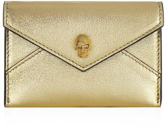 Alexander McQueen Skull Card Holder - Lyst