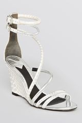 B Brian Atwood Wedge Sandals Sedini - Lyst