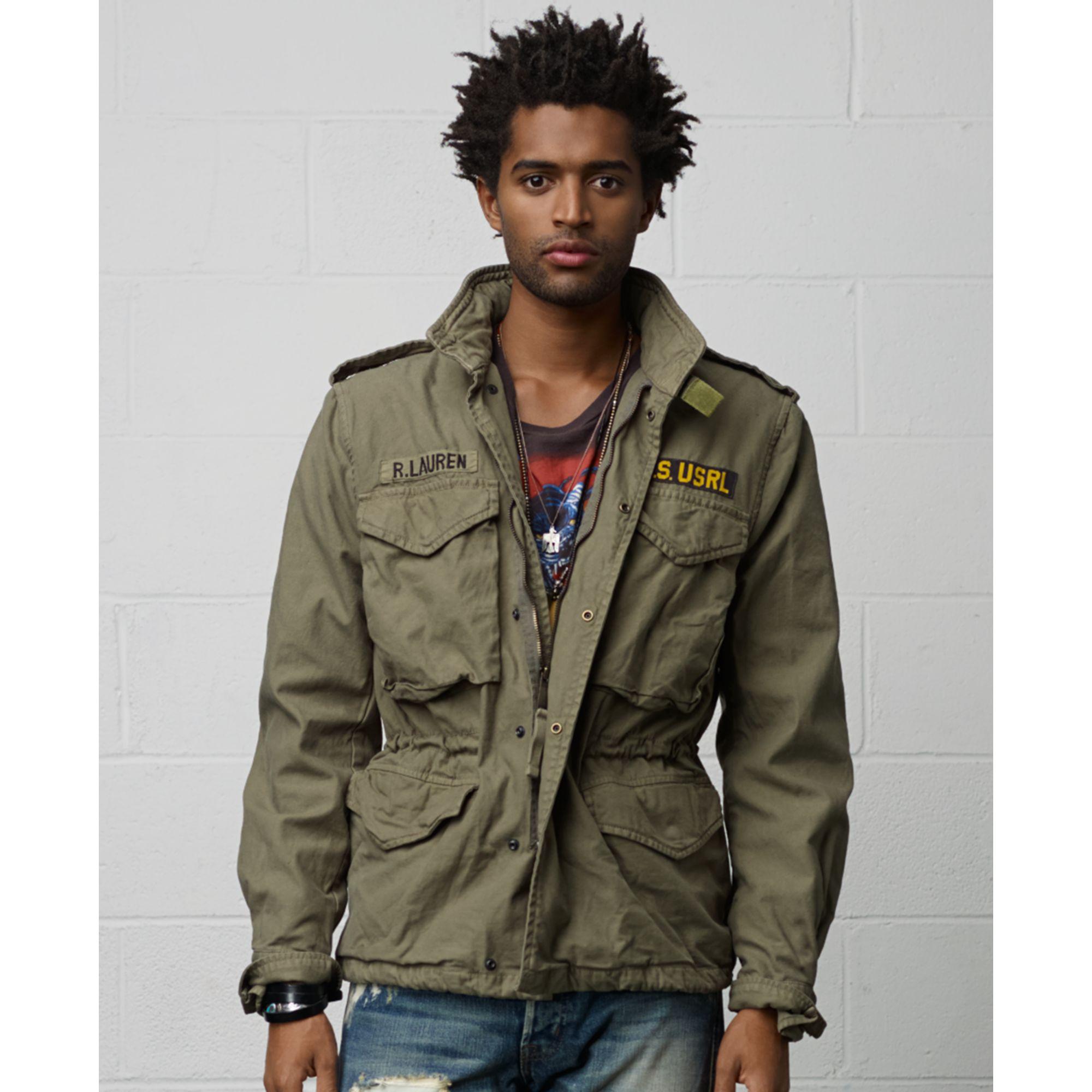 edfa532fd Denim   Supply Ralph Lauren Field Jacket in Green for Men - Lyst