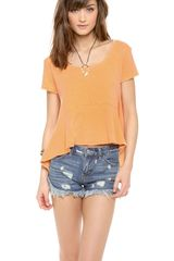 Free People Rocko Tee - Lyst