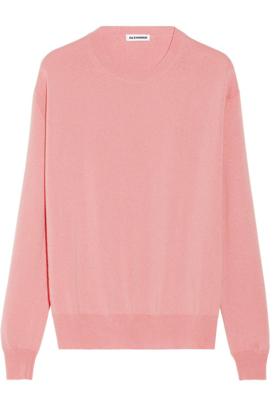 Jil sander Cashmere Sweater in Pink | Lyst