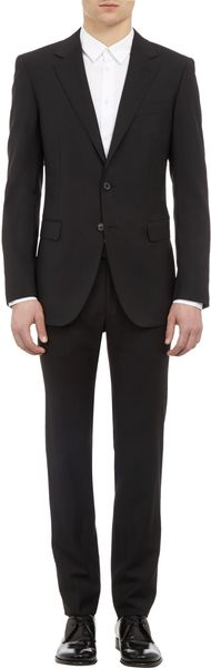 Lanvin Two Button Suit - Lyst