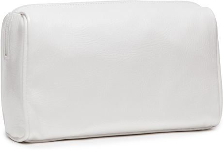 Lisa Perry Medium Cosmetic Bag In White Lyst