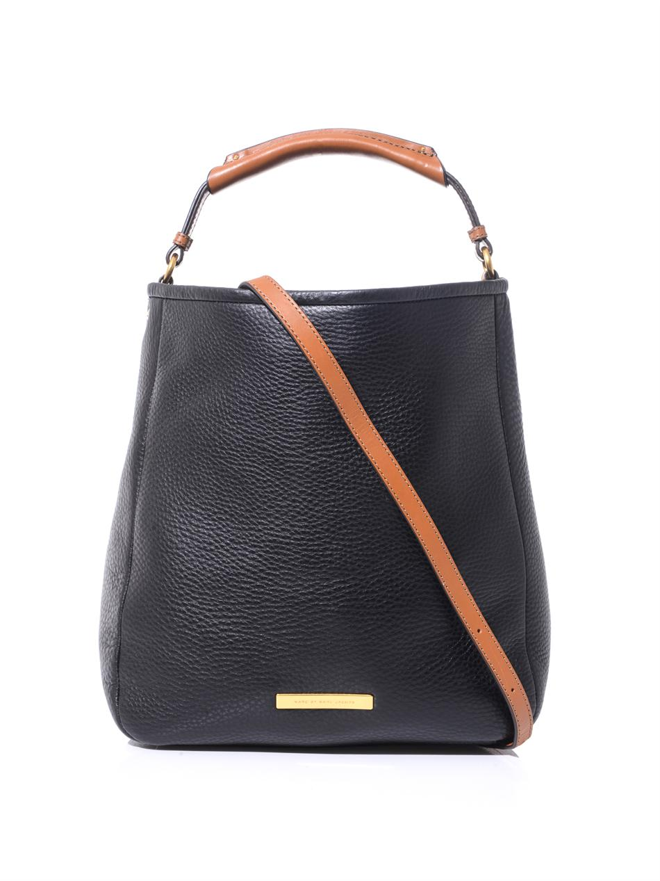 c4bf3f9762ba8 Lyst Marc By Marc Jacobs Leather Hobo Bag in Black