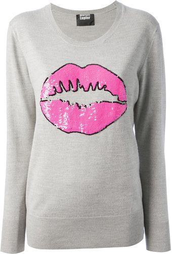Markus Lupfer Lip Sweater - Lyst