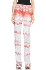 Missoni Pants - Lyst