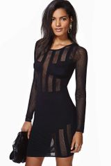 Nasty Gal Seine Mesh Dress - Lyst