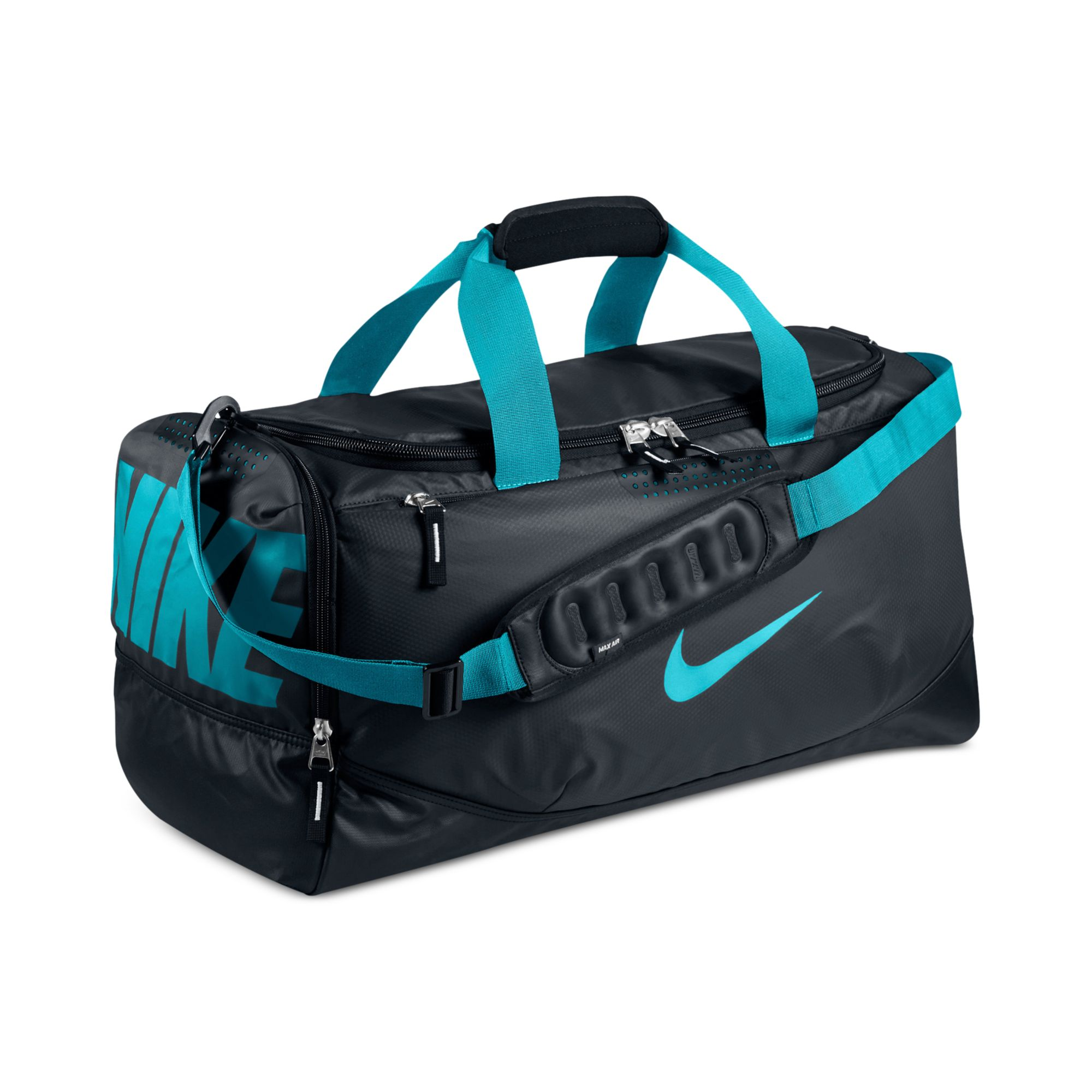 Lyst - Nike Water Resistant Team Training Medium Duffle Bag in Blue ... 89c7081e17fae