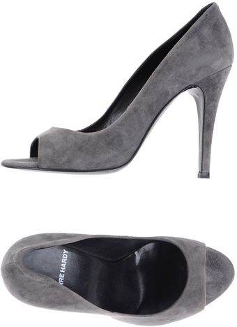 Pierre Hardy Pumps with Open Toe - Lyst