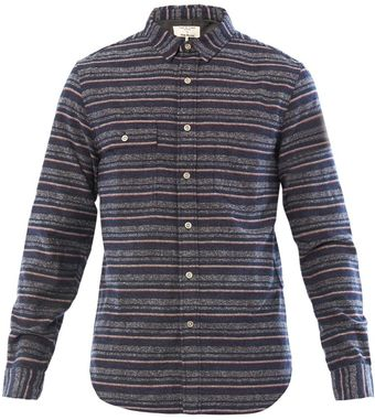 Rag & Bone Streip Trail Shirt - Lyst