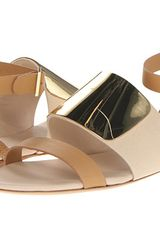See By Chloé Flat Sandals - Lyst