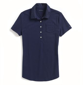 Tommy Hilfiger Gingham Fashion Polo - Lyst