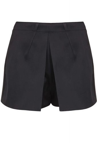 Topshop Tailored Satin Skort - Lyst