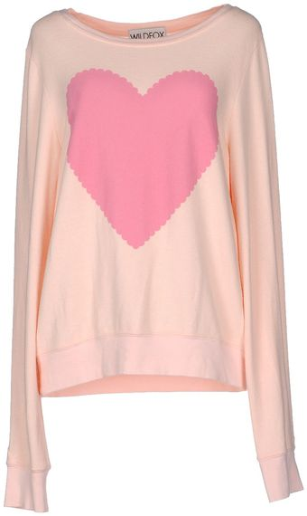 Wildfox Long Sleeve Sweater - Lyst