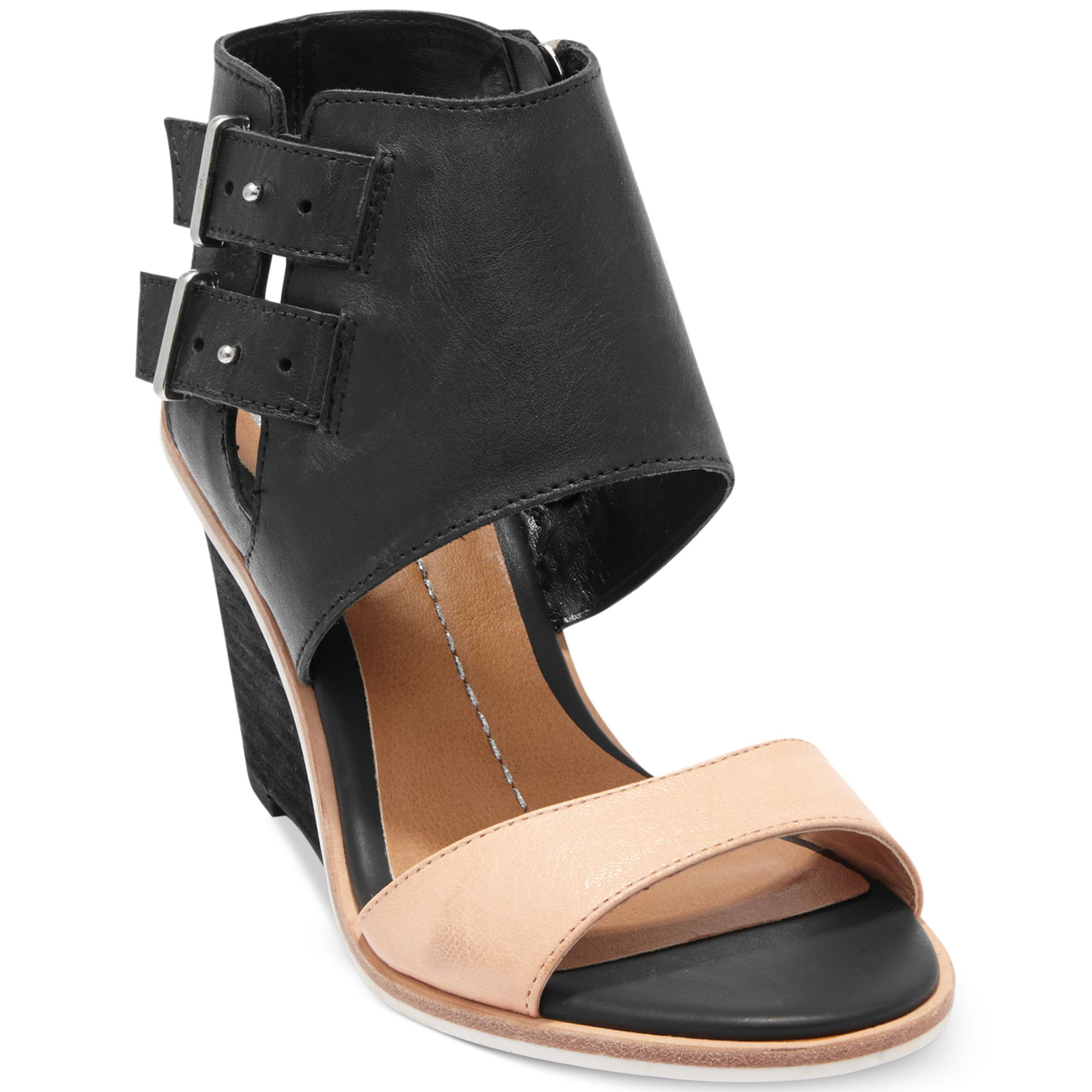 dolce vita dv by cambria wedge sandals in black lyst