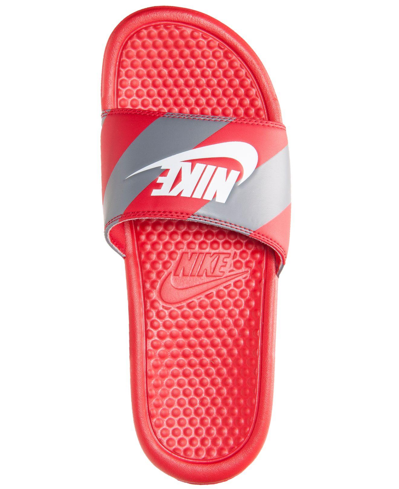 Lyst Nike Men S Benassi Jdi Print Slide Sandals From