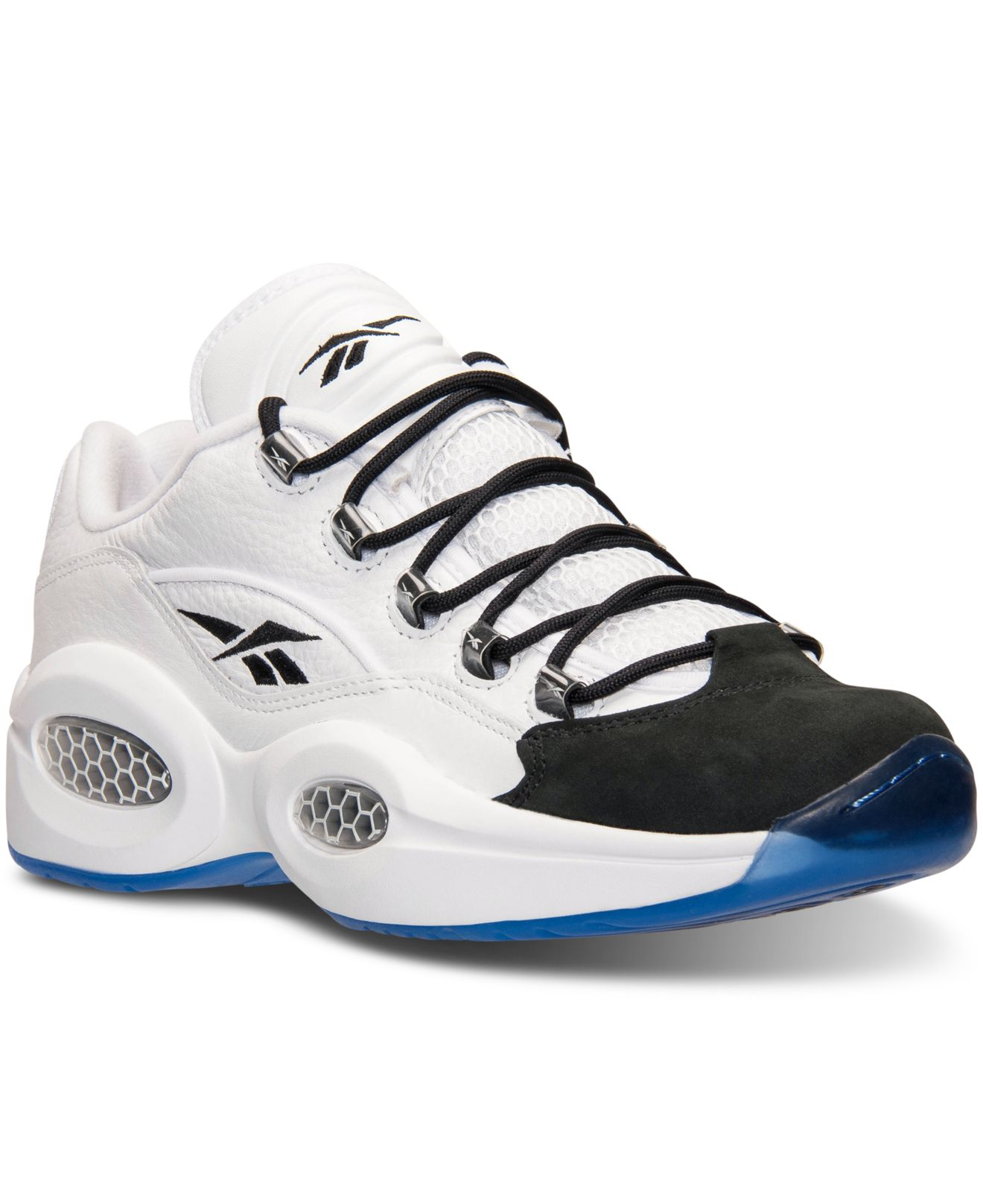 Lyst Reebok Men S Question Low Basketball Sneakers From Finish
