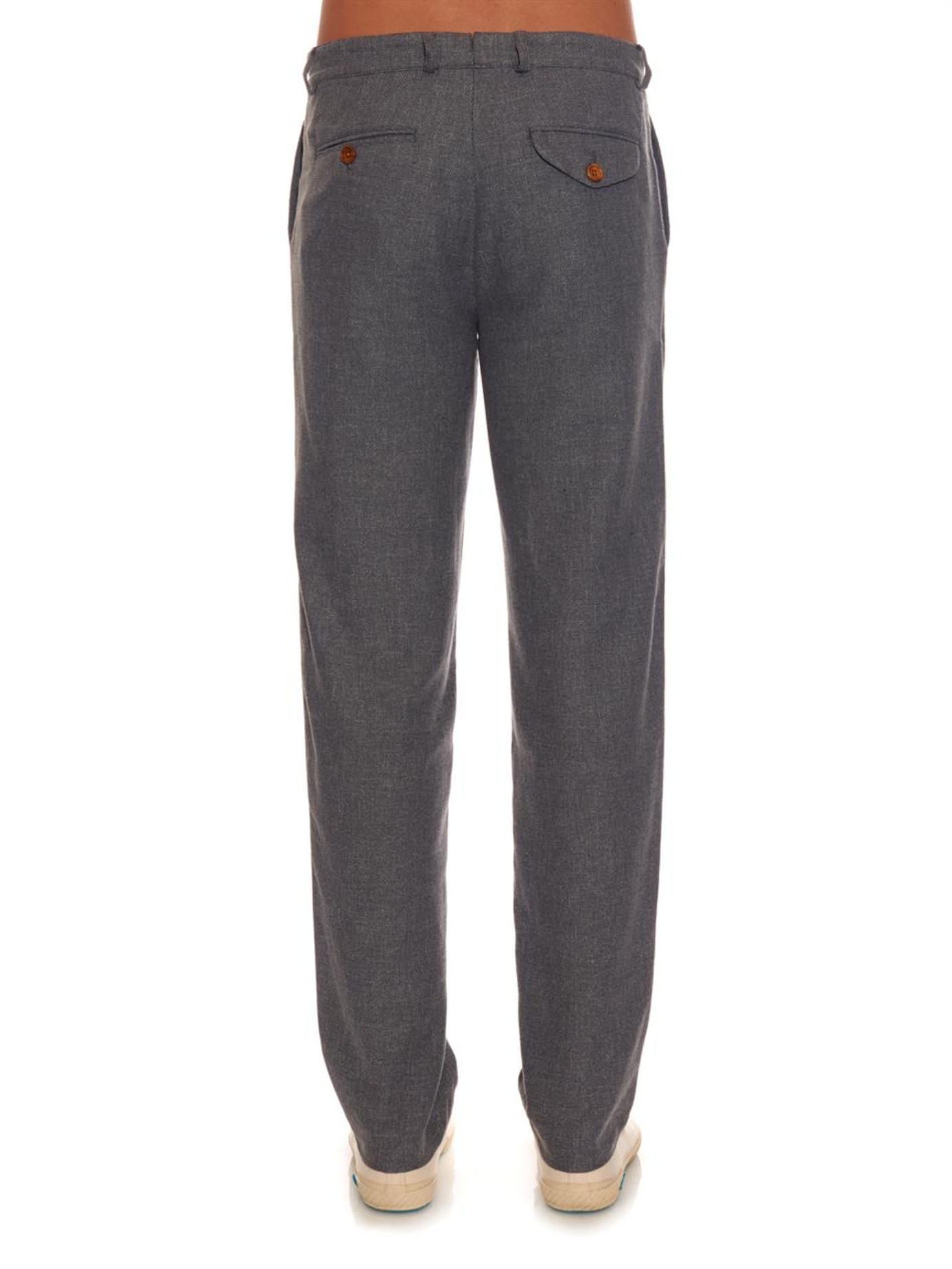 Fishtail Linen Trousers Oliver Spencer q020UsZ