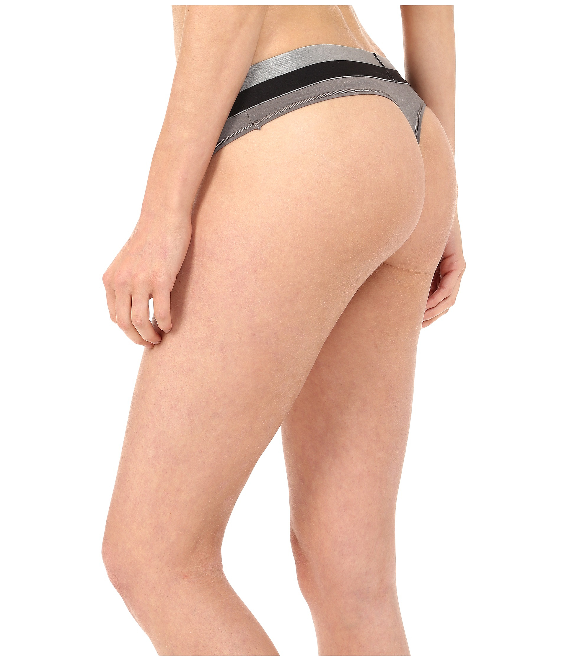 9f1539f7fcc8b2 Calvin Klein Magnetic Force Thong in Gray - Lyst