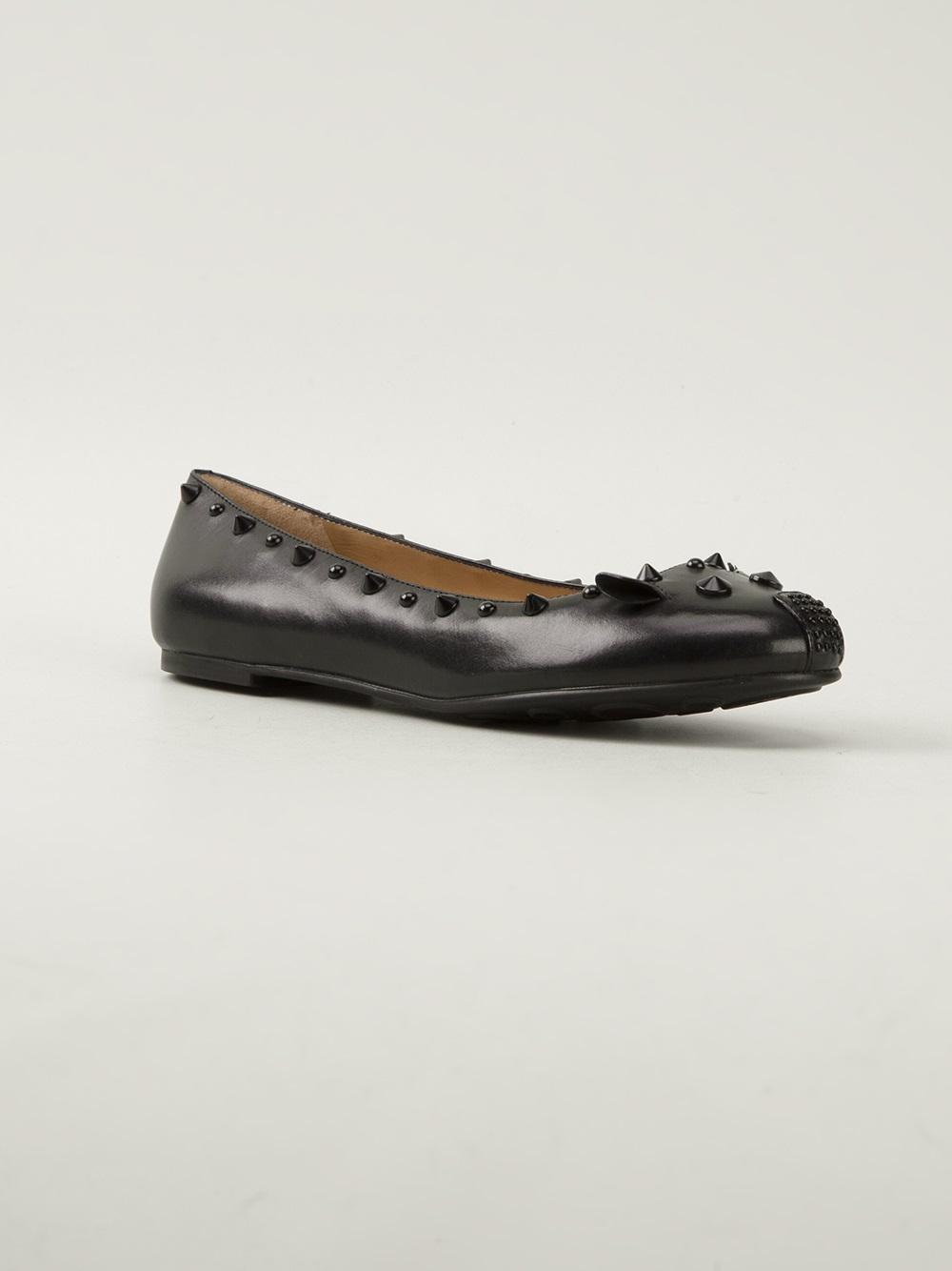 c101f784c38b4 Lyst - Marc By Marc Jacobs Punk Mouse Ballerina Pump in Black