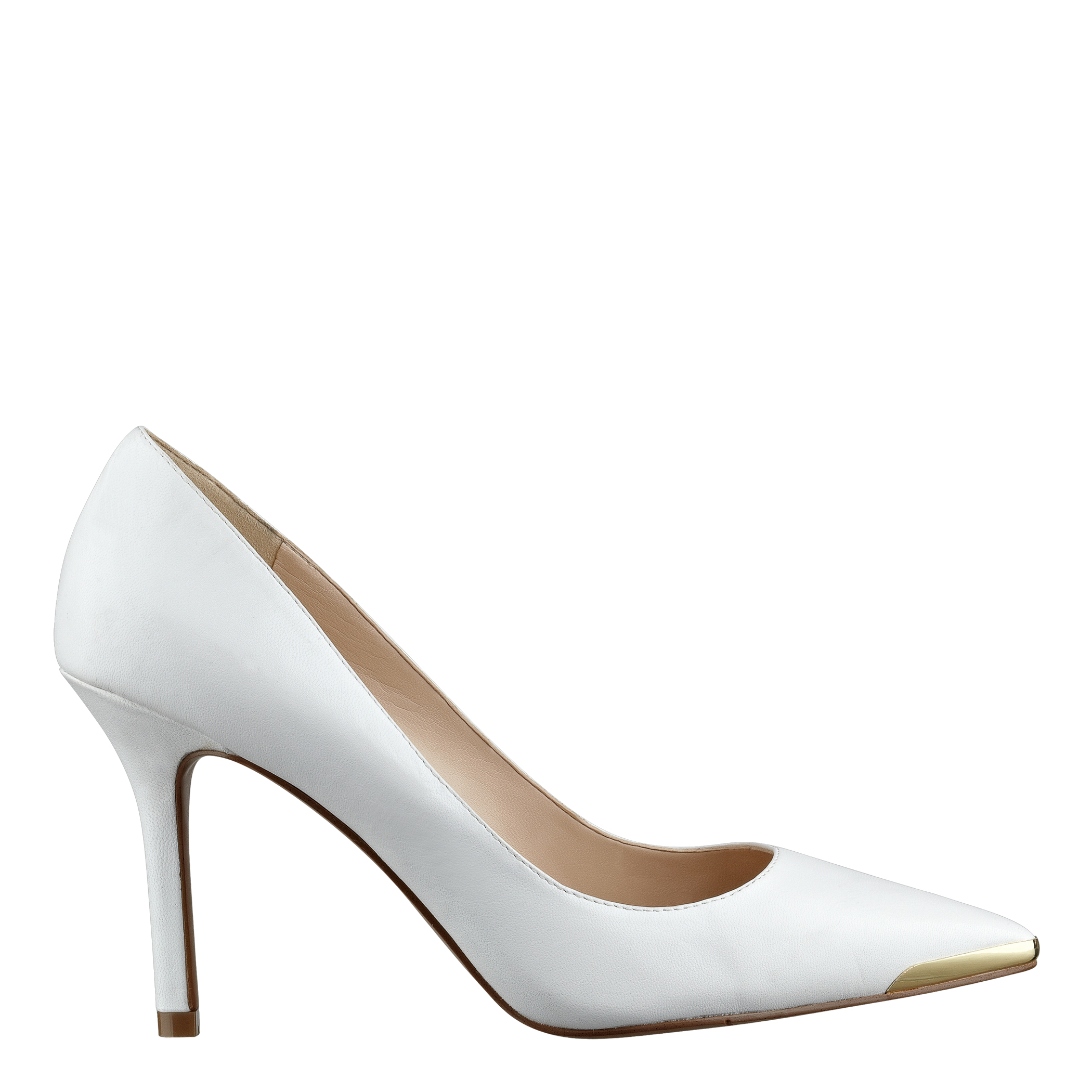 Lyst - Nine West Mastic Pointed Toe Pumps in White