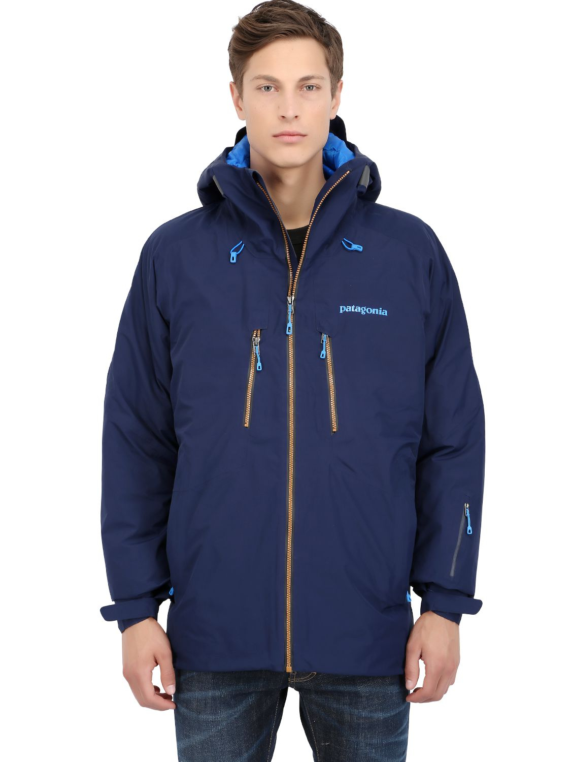 Patagonia primo down jacket in blue for men lyst