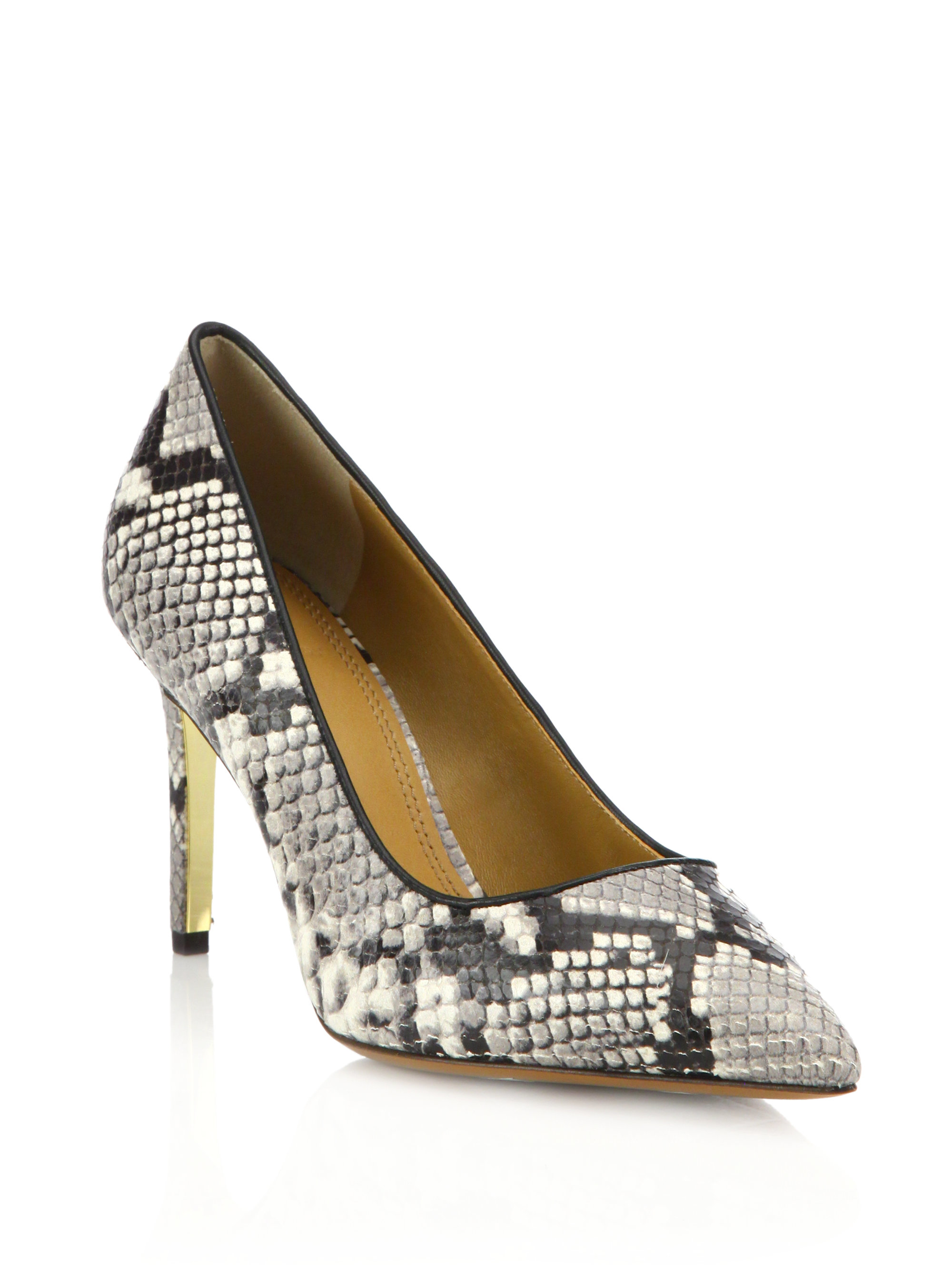 Tory Burch Satin Printed Pumps outlet locations cheap price RxMcipp60E