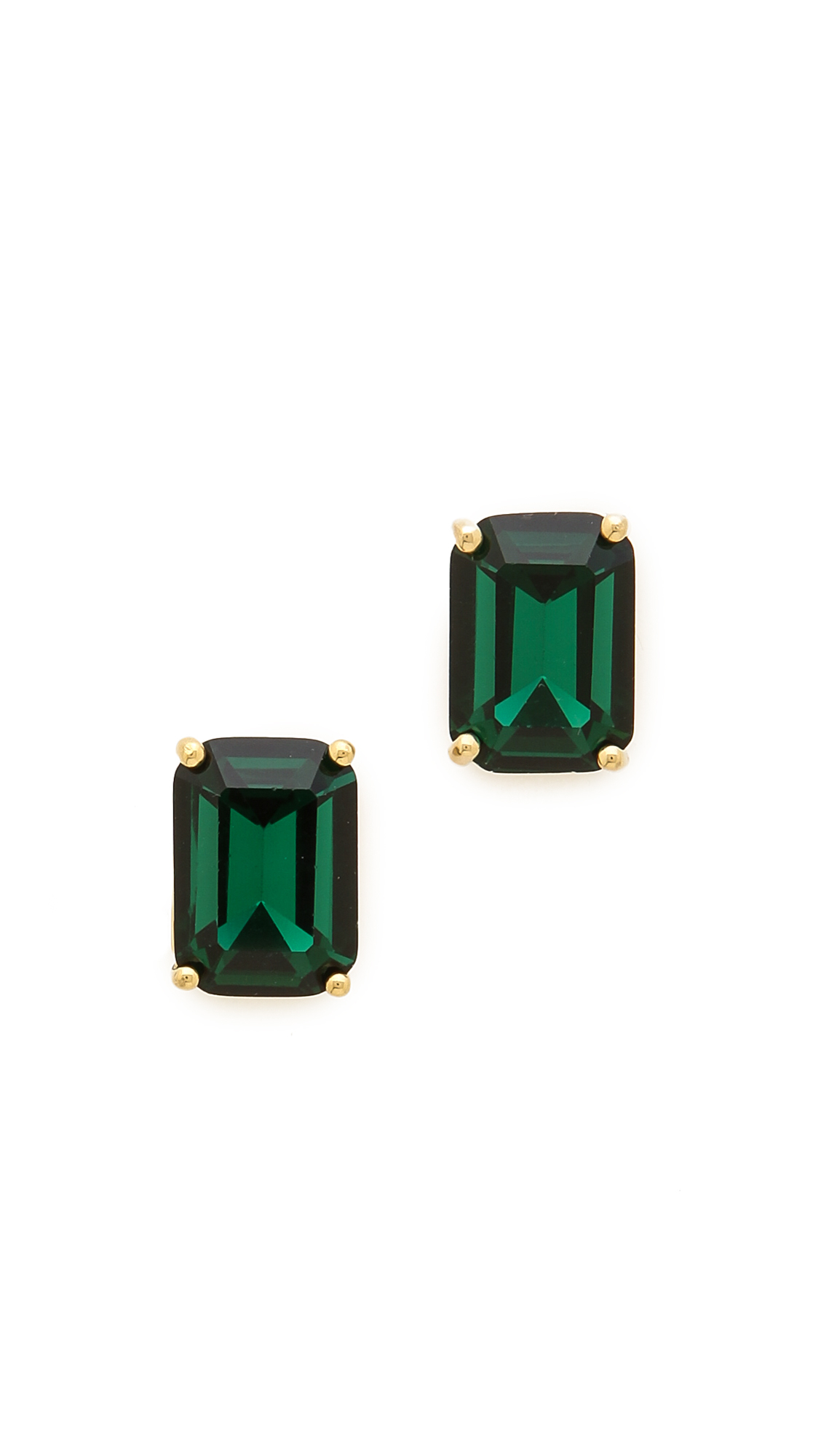 item jewelry shop studs order amp stud gold earrings colombian green emerald emera