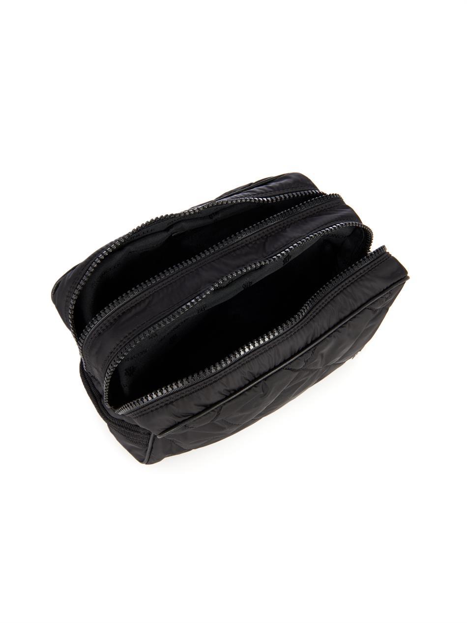 Lyst - Moncler Quilted Nylon Washbag in Black for Men 365c417e7f344