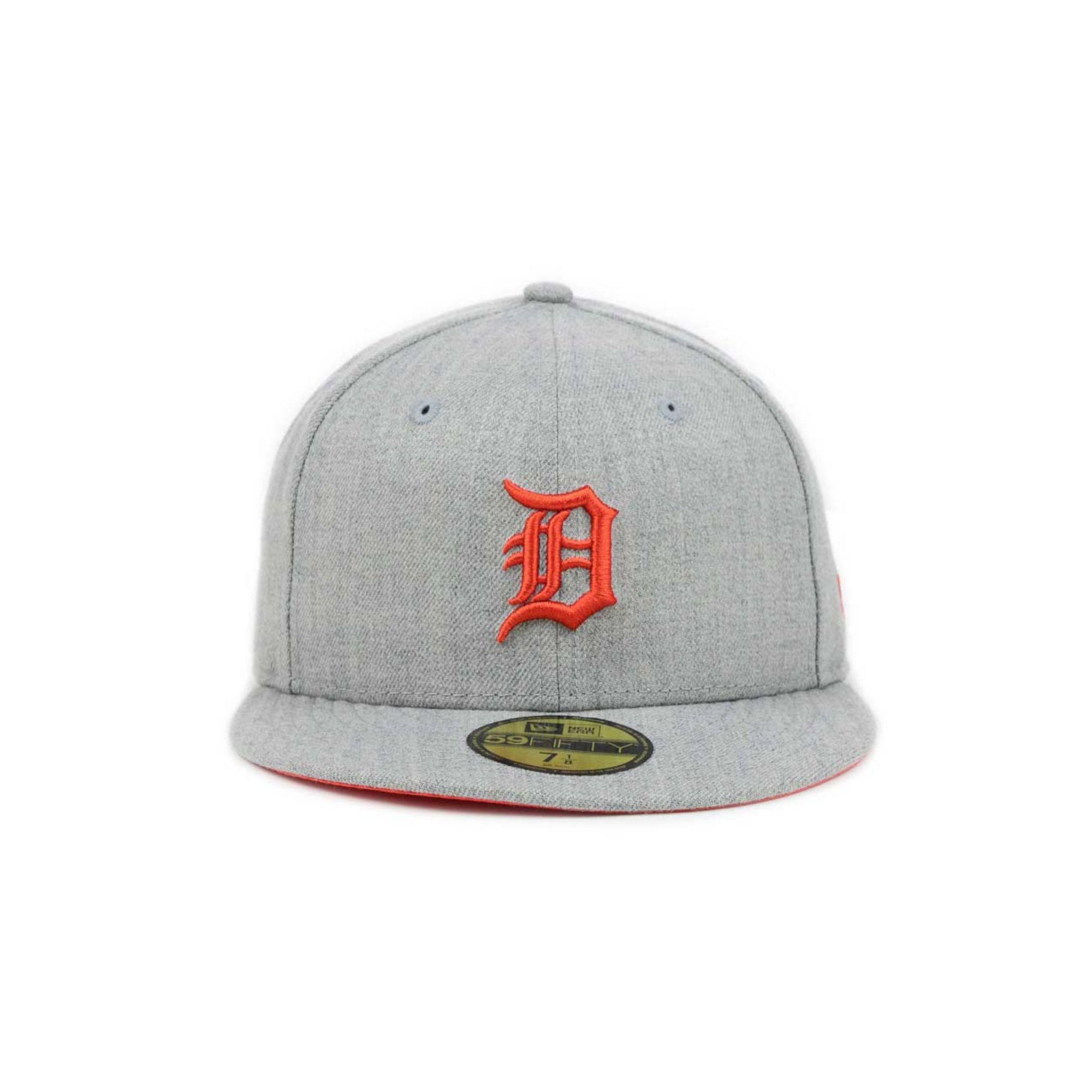 59ad2dd68fe Lyst - KTZ Detroit Tigers Mlb Heather Basic 59fifty Cap in Gray for Men