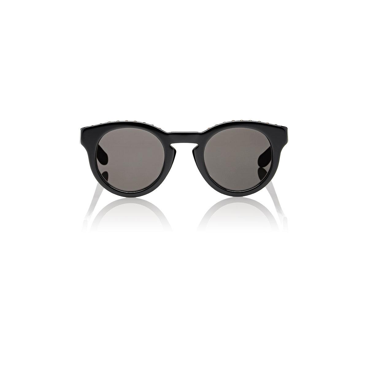 3bd672ed1c Lyst - Givenchy Stud-embellished Round Sunglasses