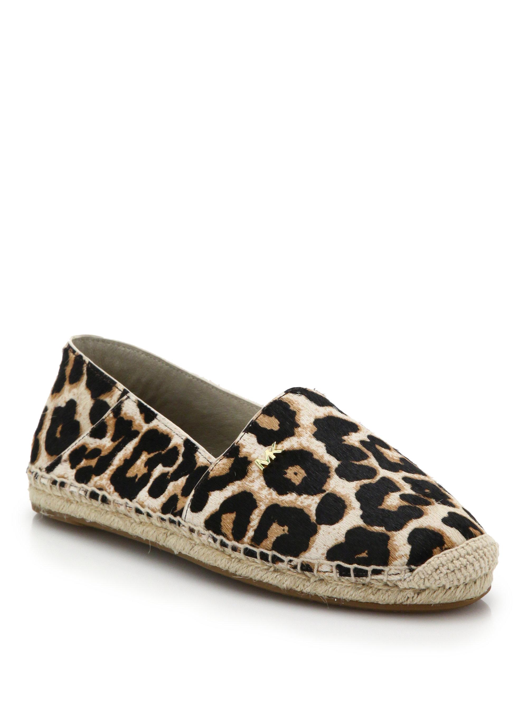 Lyst Michael Michael Kors Leopard Print Calf Hair
