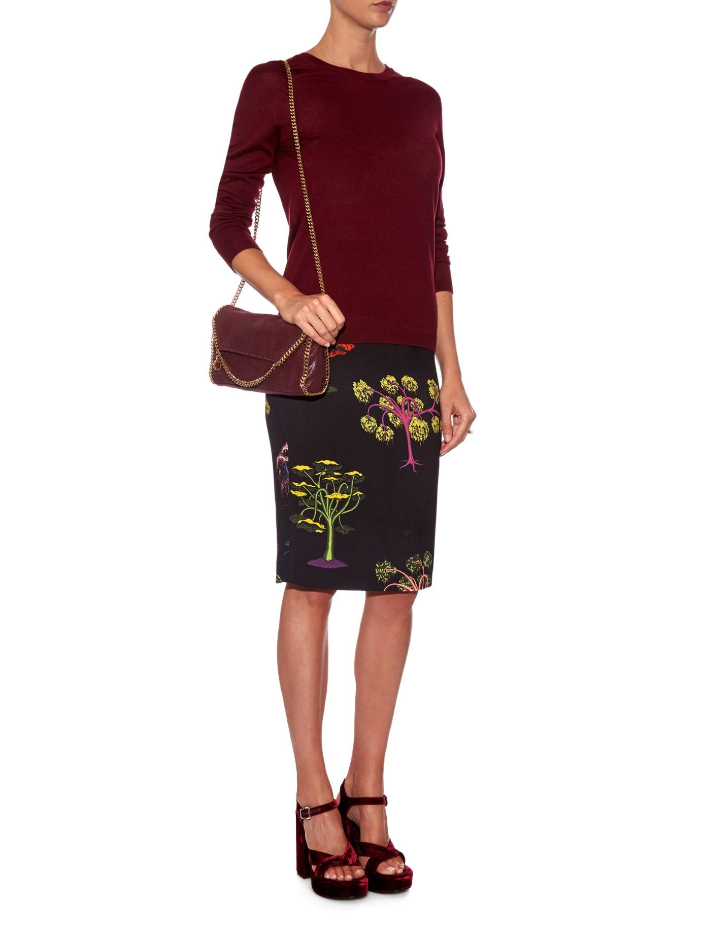 141286fe362 Stella Mccartney Falabella Mini Faux-suede Cross-body Bag